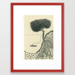 Artificial Tree N.18 Framed Art Print