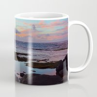 hawaiian Mugs featuring Hawaiian Sunset by Chris Martin