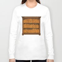 doors Long Sleeve T-shirts featuring Many Doors by Megs stuff