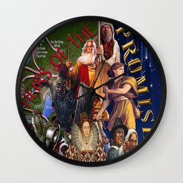 Heirs of the Promise Wall Clock