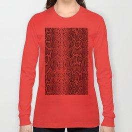 Snake Skin Long Sleeve T-shirt