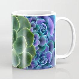 LILAC JADE SUCCULENTS GARDEN PATTERN Coffee Mug