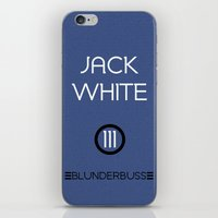 jack white iPhone & iPod Skins featuring Jack White by Tanner Wheat