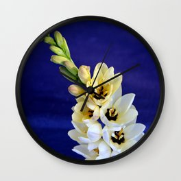 The Magic Wand Flowers Wall Clock