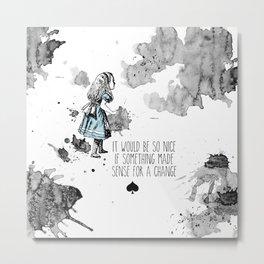 Alice Sense Metal Print
