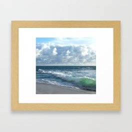 Sea Green Framed Art Print