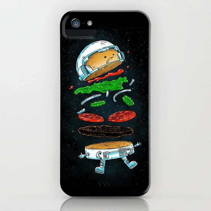 The Astronaut Burger iPhone Case
