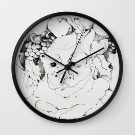 Dionysus Tree Wall Clock
