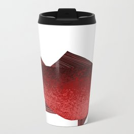 red fish Metal Travel Mug