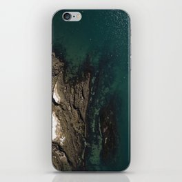 Maine Winters at the Coast  |  Drone Photography iPhone Skin