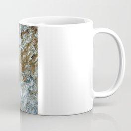 Earthy Blue and Gold Rock Coffee Mug