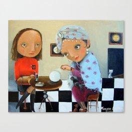 Fortune-Teller Canvas Print