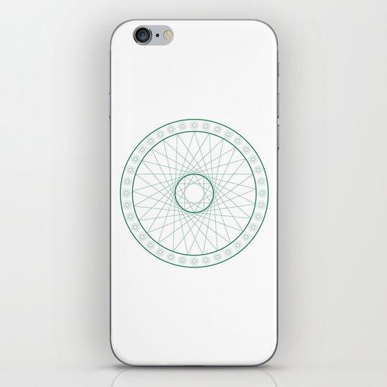 Anime Magic Circle 6 iPhone & iPod Skin