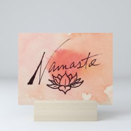 Namaste Mini Art Print
