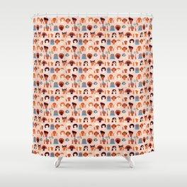 Women day Shower Curtain
