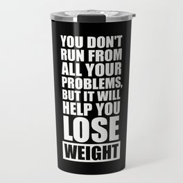 Lab No. 4 - It will help you lose weight Gym Workout Quotes Poster Travel Mug