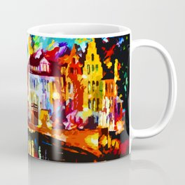 Tardis Art At The Bridge Coffee Mug