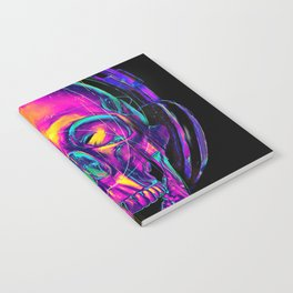 Trippy Skull Notebook
