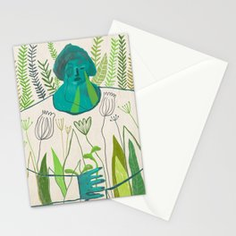 Woman [4] Stationery Cards