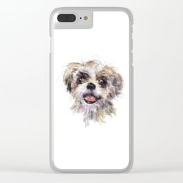 Shaggy Dog Clear iPhone Case