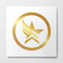 Paragade Gold Metal Print
