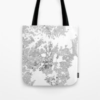 sydney Tote Bags featuring SYDNEY by Maps Factory