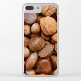Mixed nuts Clear iPhone Case