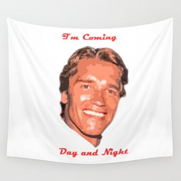 Coming Day and Night Wall Tapestry