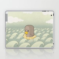 Chick Across the Sea Laptop & iPad Skin