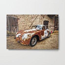 """Leica """"A Porsche Never dies"""" Metal Print"""