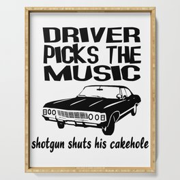 Supernatural Show Driver Picks The Music Serving Tray