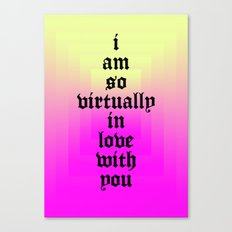 LOVE 2014 Canvas Print