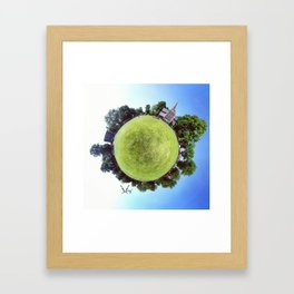 PARK PLANET PROJECT CHISWICK PARK #2 LONDON Framed Art Print