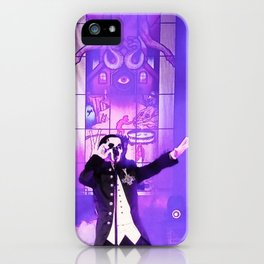 Waiting For The Night To Fall. iPhone Case