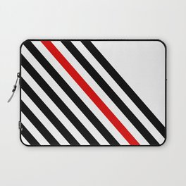 80s stripes Laptop Sleeve