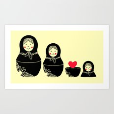 Love Inside Art Print