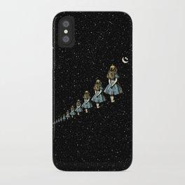Infinite Wondering Nights - Alice In Wonderland iPhone Case