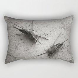 Stonefly nymphs Rectangular Pillow