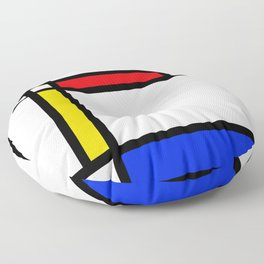 Mondrian Floor Pillow