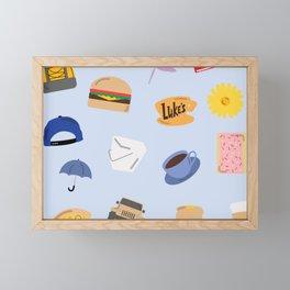 Gilmore Girls World Framed Mini Art Print