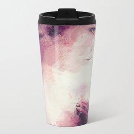 _the pink girl Metal Travel Mug