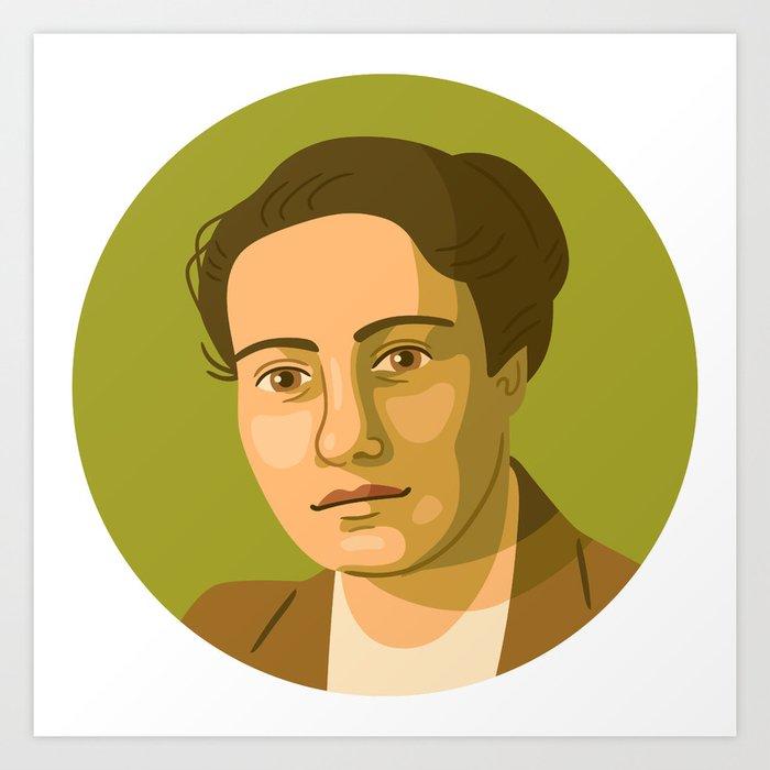 Queer Portrait - Frieda Belinfante Art Print