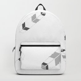 Embossedfeatherspat Backpack