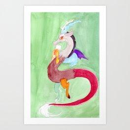 Discord Art Print
