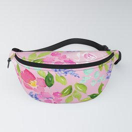 English Cottage Garden Fanny Pack