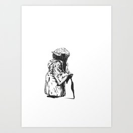 Short Yoda is Art Print