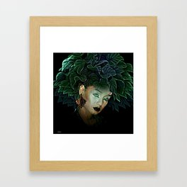 FOR BEAUTY IS FOUND WHEN YOU FIND YOURSELF Framed Art Print