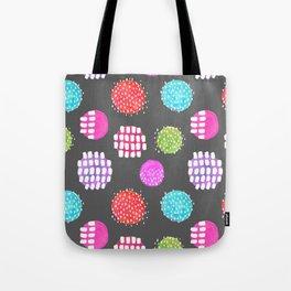 Watercolor Dots & Dashes Tote Bag