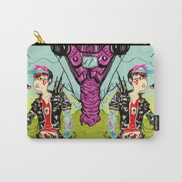 Cyber Punk Girl Carry-All Pouch