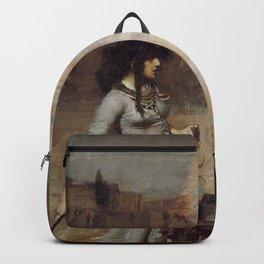 The Magic Circle, John William Waterhouse. Backpack